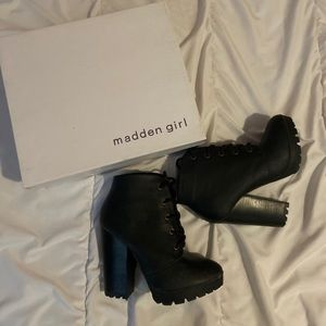 NWB Madden Girl Booties